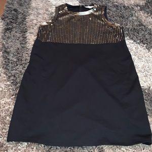 Michael Kors sequin black dress size XL good cond